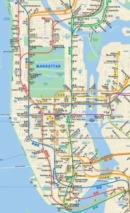 Map-Of-The-New-York-City-Subway
