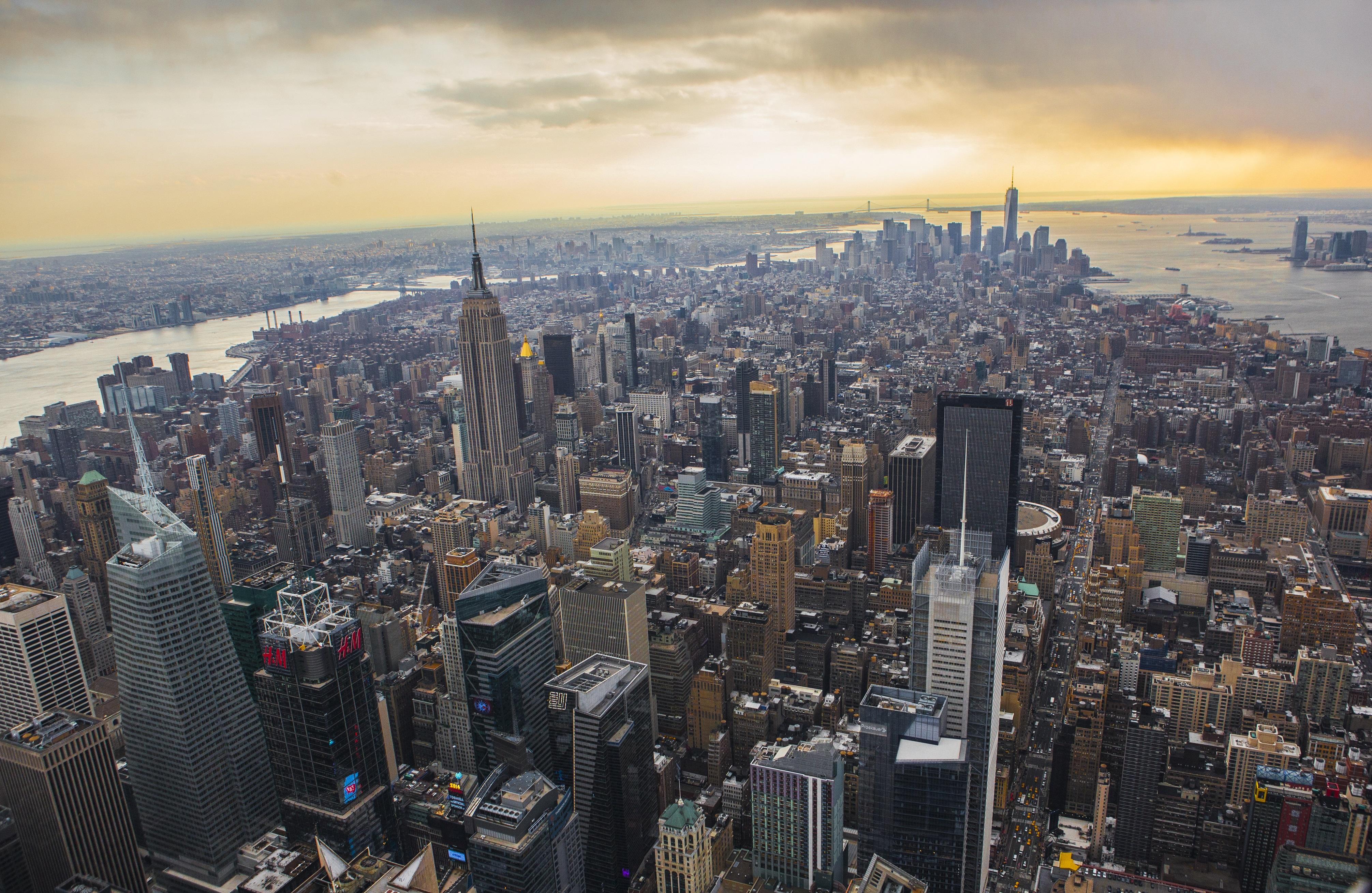 曼哈顿鸟瞰1