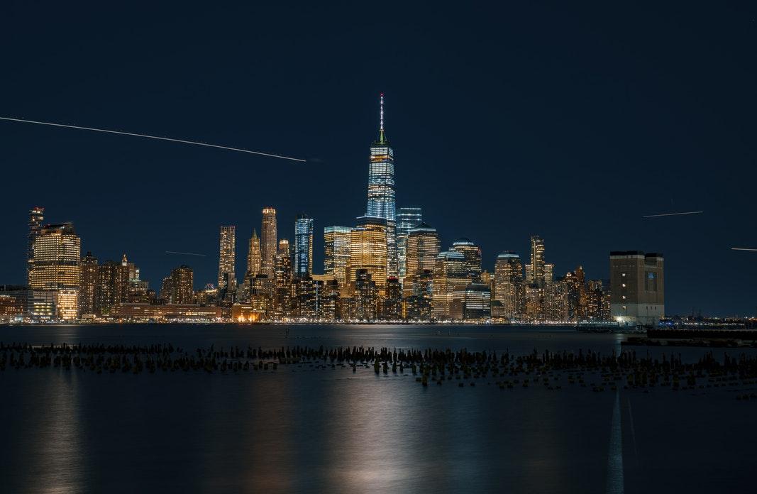 曼哈顿河景