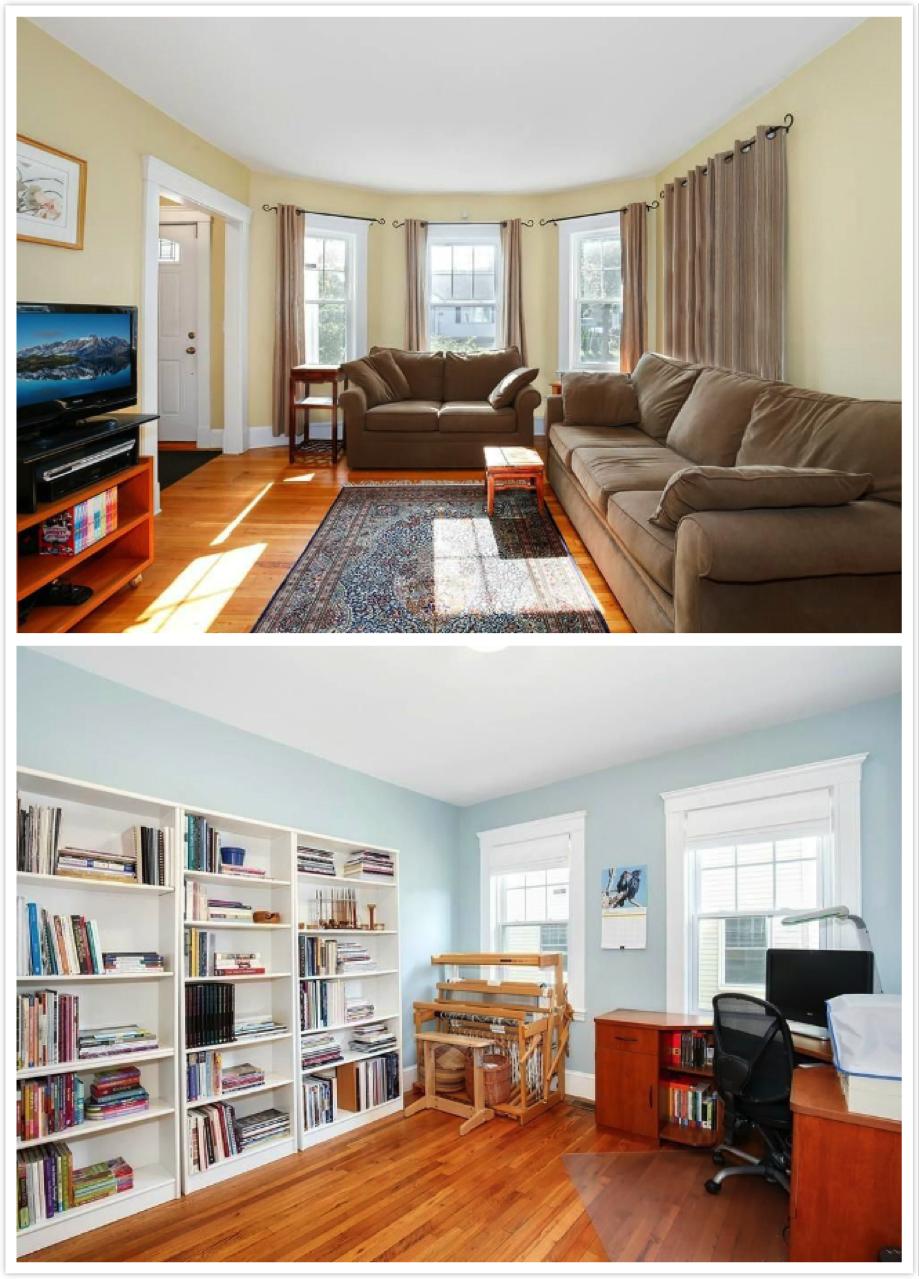 位于波士顿的一套两室一厅独立产权公寓,标价55万美元