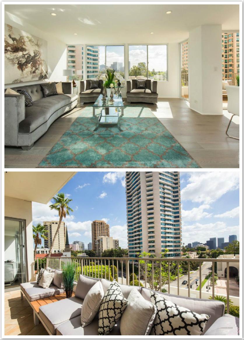 位于洛杉矶的一套一室一厅独立产权公寓