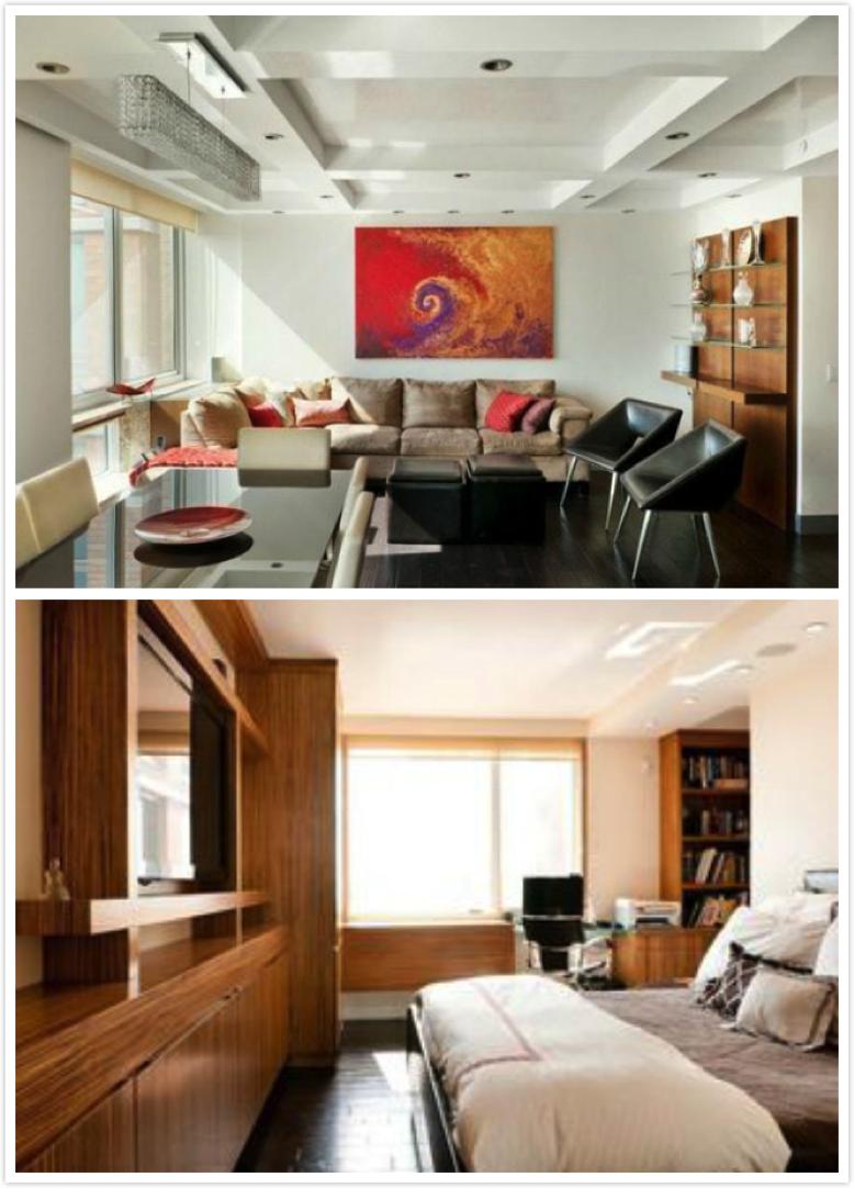 位于纽约上东区的一套一室一厅公寓