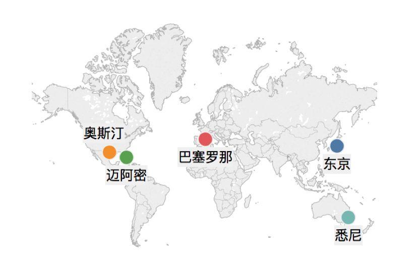 2018 世界地图