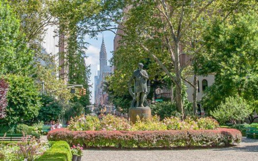 曼哈頓格萊姆西公園Gramercy Park