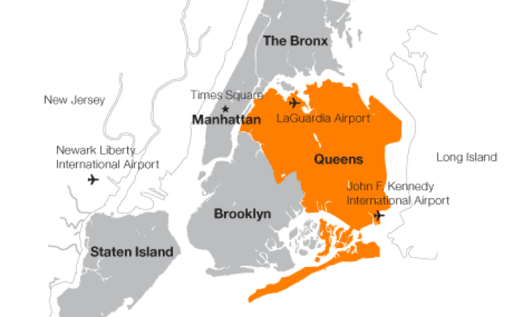 纽约 地图