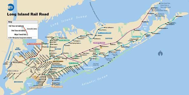 长岛火车线路图
