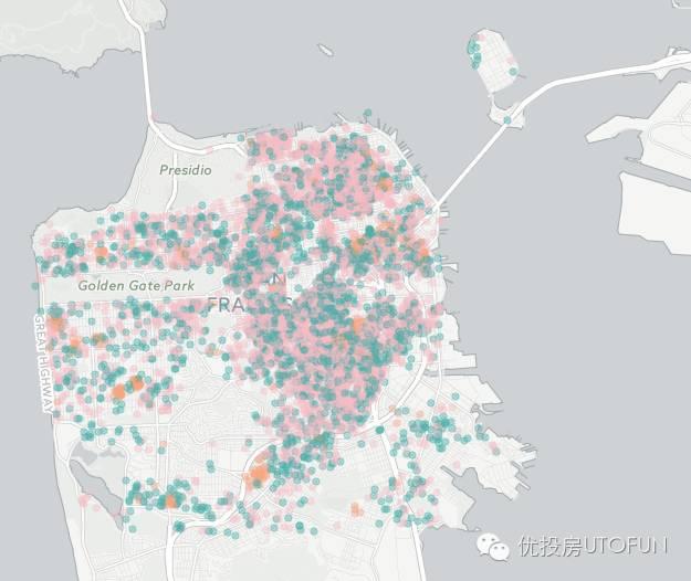 深扒Airbnb住宿旅馆信息第二弹—旧金山