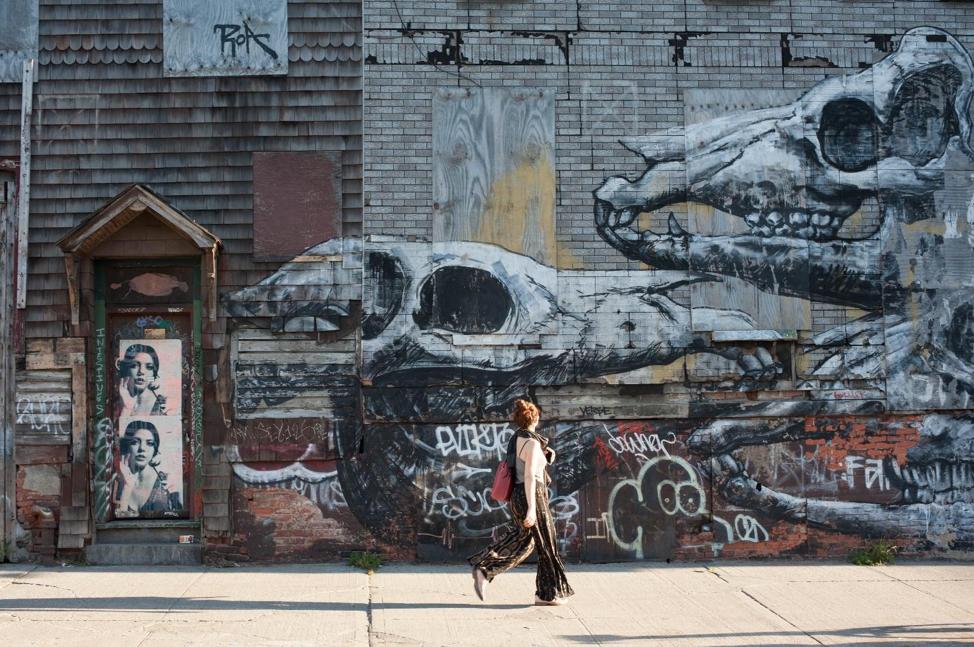 涂鸦天堂房价5年翻番-纽约另类社区布什维克(Bushwick)