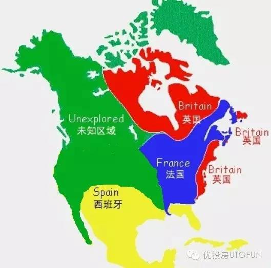 美国房屋特色地域分布