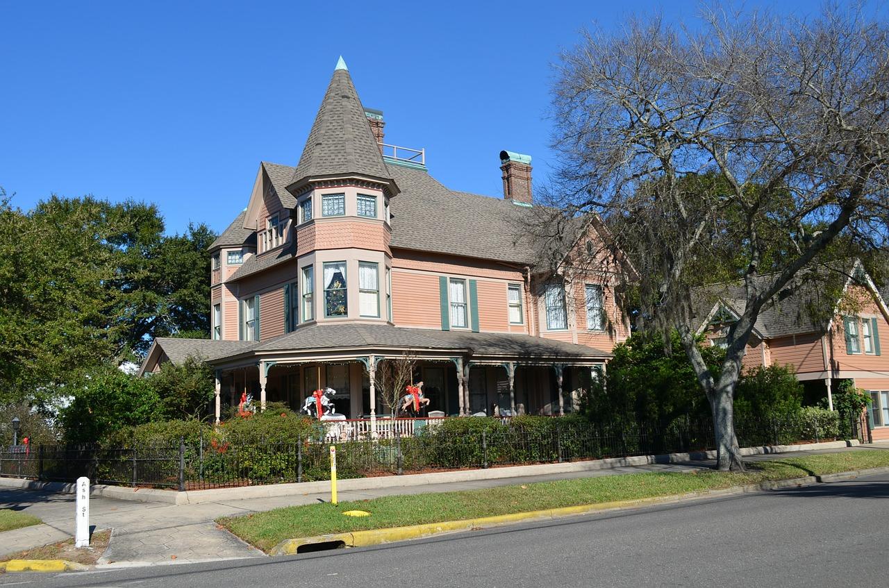 美国维多利亚式房屋