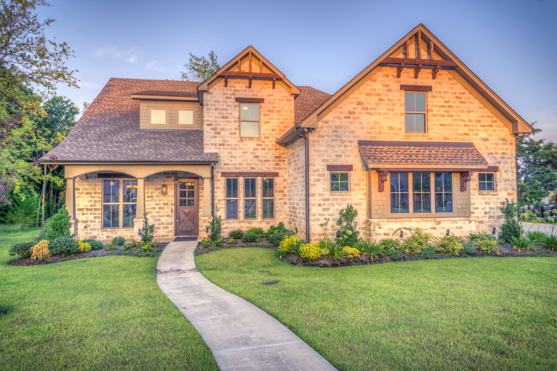 美国传统式房屋分布