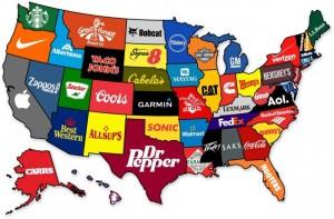 美國各洲企業巨頭
